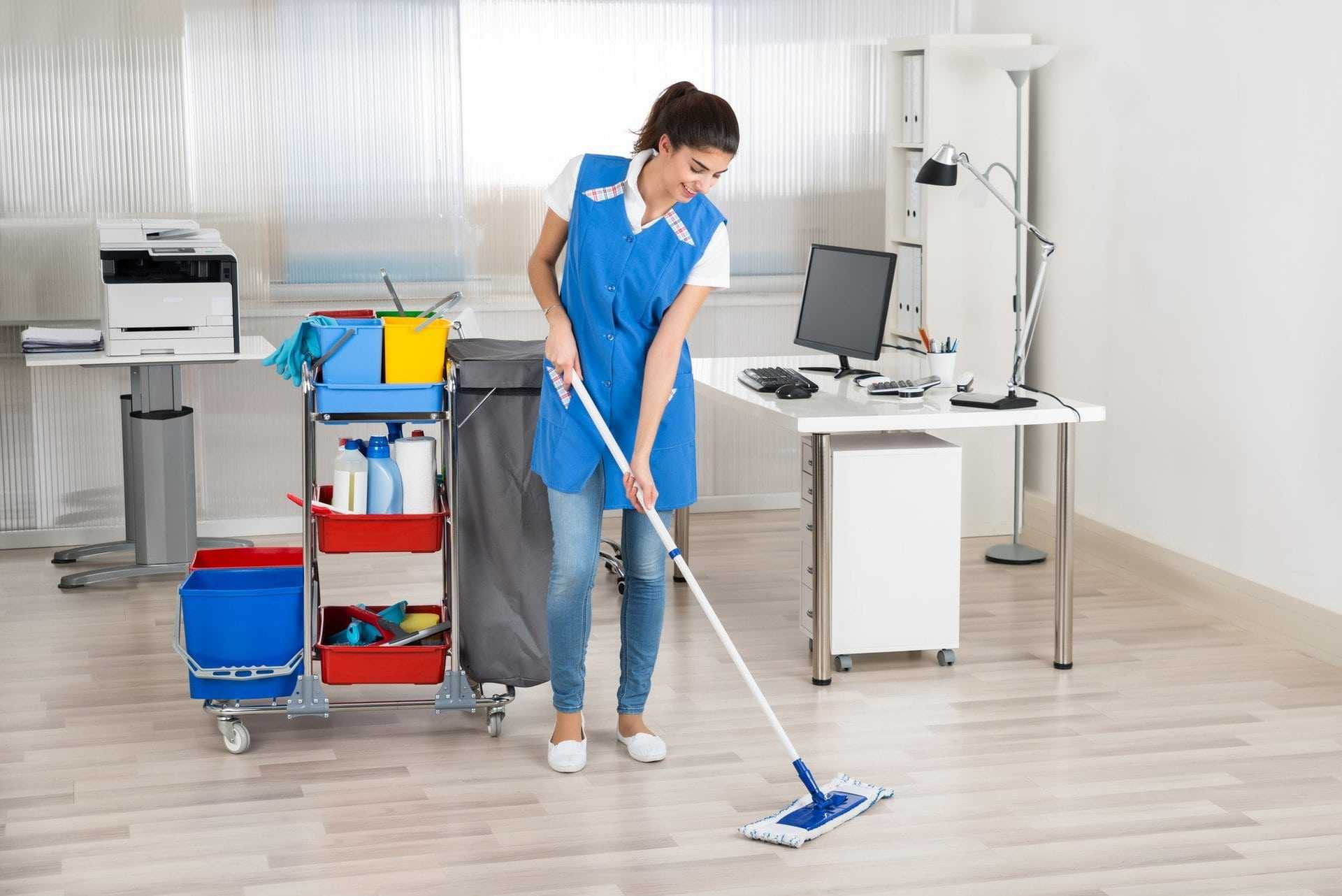 efficient office cleaning